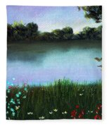 River Bank Fleece Blanket