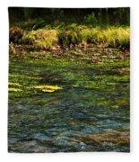 River Colors Fleece Blanket