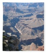 River Deep - Mountain High - Grand Canyon And Colorado River Fleece Blanket