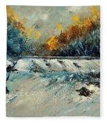 River Fall Fleece Blanket