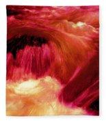 River From Hell Fleece Blanket