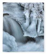 River Ice Fleece Blanket