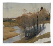 River Kordonka Fleece Blanket