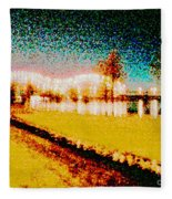 River Lights Fleece Blanket