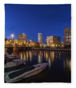 River Nights Fleece Blanket