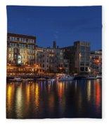 River Nights II Fleece Blanket