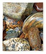 River Rocks 11 Fleece Blanket