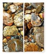 River Rocks 15 In Stereo Fleece Blanket