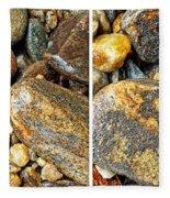 River Rocks 16 In Stereo Fleece Blanket