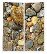 River Rocks 17 In Stereo Fleece Blanket