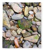River Rocks 2 Fleece Blanket