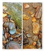 River Rocks 9 In Stereo Fleece Blanket