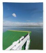 River Shannon Ferry, Tarbert-killimer Fleece Blanket