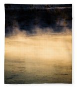River Smoke Fleece Blanket