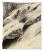 River Stream Fleece Blanket