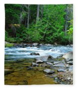 River View Fleece Blanket