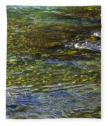 River Water 2 Fleece Blanket