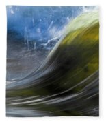River Wave Fleece Blanket
