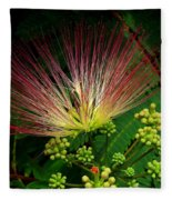 River Wildflowers Fleece Blanket