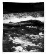 River Wye - England Fleece Blanket
