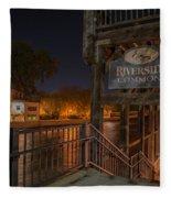 Riverside Commons Fleece Blanket