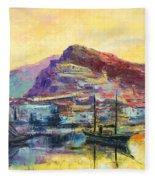 Riviera Di Ponente Fleece Blanket
