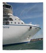 Riviera Ocean Liner Fleece Blanket