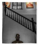 Rizal Shrine Fleece Blanket