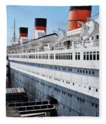 Rms Queen Mary Fleece Blanket