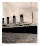 Rms Titanic Fleece Blanket