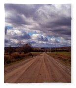 Road To Fillmore Fleece Blanket