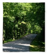 Road To Nature Fleece Blanket
