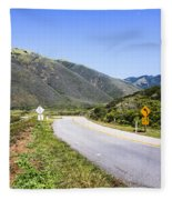 Road To Nowhere Fleece Blanket