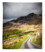 Road To The Black Valley Fleece Blanket