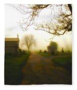 Road To The Mausoleum Fleece Blanket