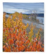 Roadside Reds Fleece Blanket