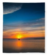 Roanoke Dawn Fleece Blanket