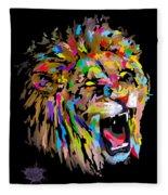 Roar Fleece Blanket