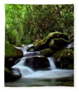 Roaring Fork Waters Fleece Blanket