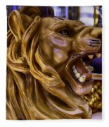 Roaring Lion Ride Fleece Blanket