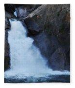 Roaring River Falls Fleece Blanket