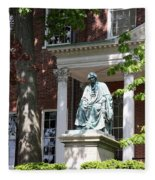 Robert Brooke Taney Statue - Maryland State House  Fleece Blanket