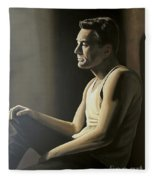 Robert De Niro Fleece Blanket