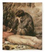 Robert O'hara Burke (1820-1861) Fleece Blanket