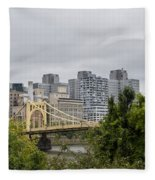 Roberto Clemente Bridge Pittsburgh Pa Fleece Blanket