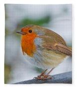 Robin 3 Fleece Blanket