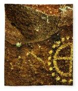 Rock Art Fleece Blanket