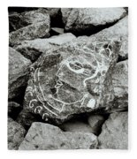 Rock Art Fleece Blanket