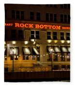Rock Bottom - Milwaukee  Fleece Blanket