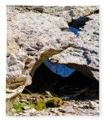 Rock Formation Devonian Fossil Gorge Fleece Blanket